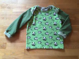 Shirt für den Sohn - Pandabären