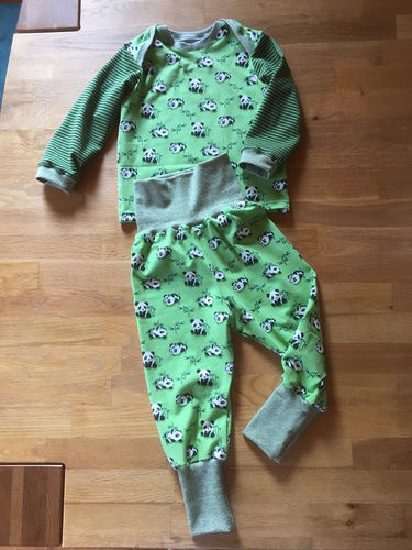 Makerist - Pumphose für den Sohn - Pandabären - Nähprojekte - 2