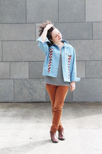 Makerist - Veste Shérif - Créations de couture - 1