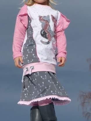 Makerist - Mädchenrock Diva aus Jersey. Gr. 104 - 1