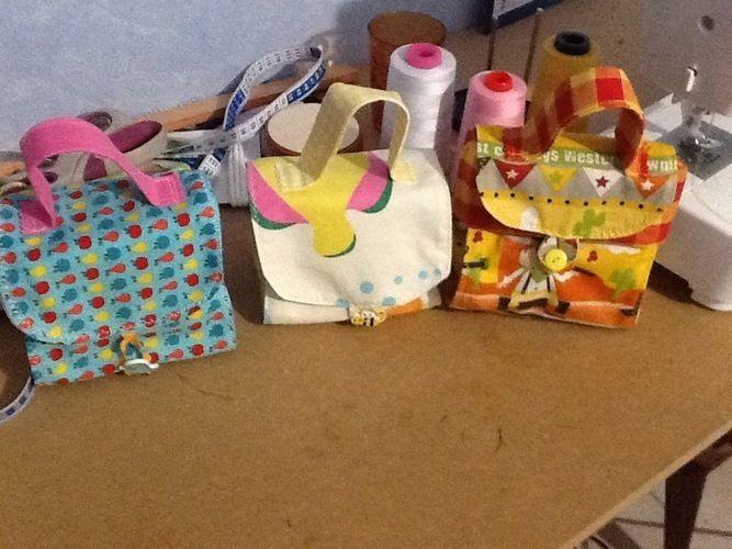 Makerist - Petit sac de transport pour les enfants pour leurs goûter  - Créations de couture - 1