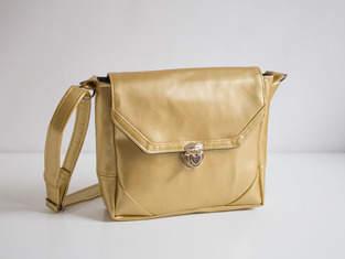 Kindertasche in Gold