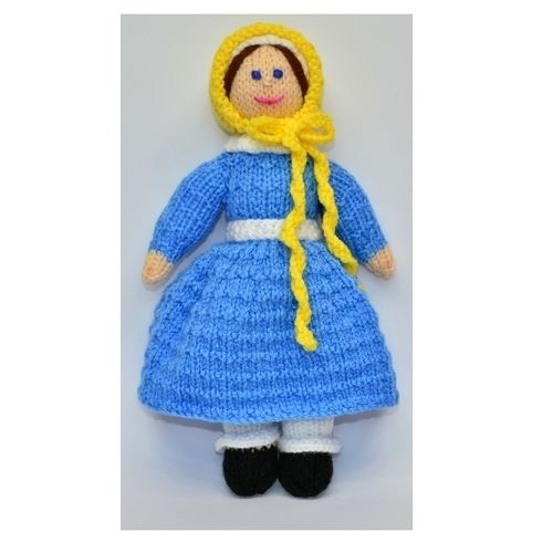 Makerist - Victorian Doll 1838 - Jane - DK Wool - Knitting Showcase - 1