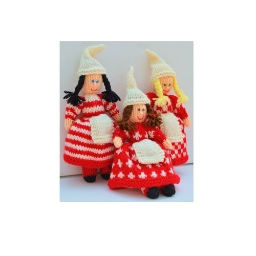 Makerist - Scandinavian Christmas Elves - DK Wool - Knitting Showcase - 1