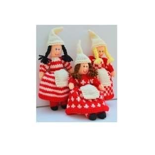 Makerist - Scandinavian Christmas Elves - DK Wool - 1