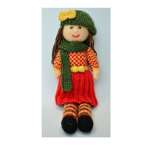 Makerist - Aster - An Autumn Doll - DK Wool - Knitting Showcase - 1