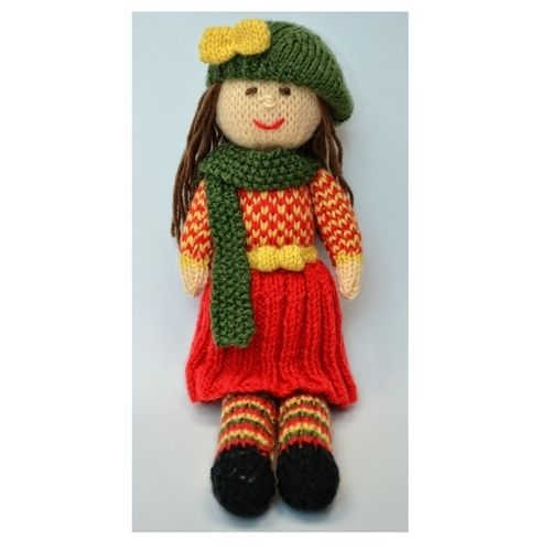 Makerist - Aster - An Autumn Doll - DK Wool - Knitting Showcase - 2