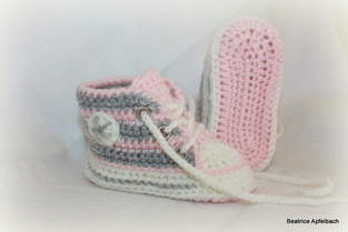 "Makerist - Sneakers""Girly"" - 1"