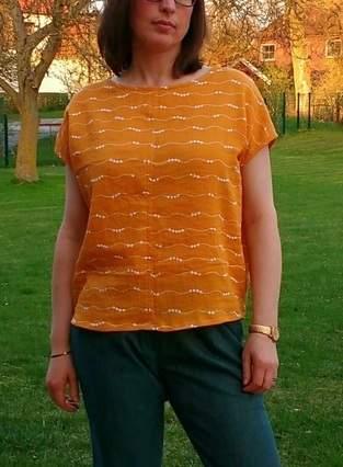 Makerist - Bluse Frau Ilvie von Fritzi/Schnittreif - 1