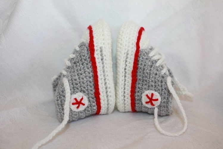 Makerist - Sneakers - Häkelprojekte - 1