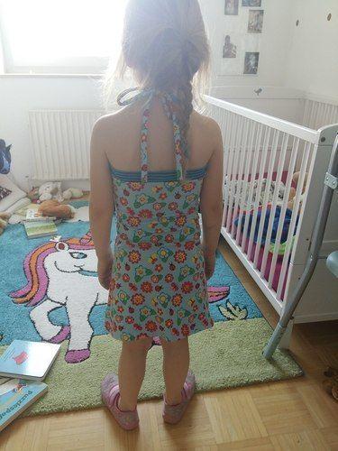 Makerist - Perfektes Sommerkleid für wilde Hummeln, die auch gerne Prinzessinen sein möchten :-) - Nähprojekte - 2
