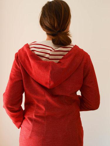 Makerist - Chilli scharfe Jacke. Bio Sweat und Bio Single Jersey für mich.... - Nähprojekte - 2