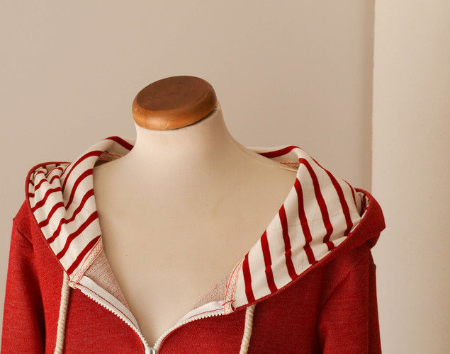 Makerist - Chilli scharfe Jacke. Bio Sweat und Bio Single Jersey für mich.... - Nähprojekte - 3