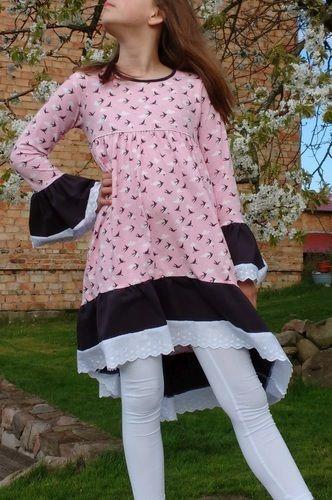 Makerist - Tunika Valessia in Kleiderlänge von Schnittgeflüster aus Jersey, Gr. 152 - Nähprojekte - 1