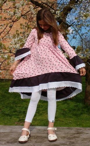 Makerist - Tunika Valessia in Kleiderlänge von Schnittgeflüster aus Jersey, Gr. 152 - Nähprojekte - 3