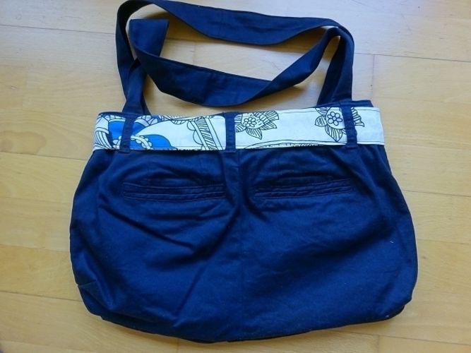 Makerist - Handtasche aus einer ausgedienten Hose - Nähprojekte - 2