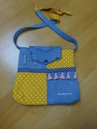 Makerist - Upcycling-Handtasche - 1