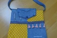 Makerist - Upcycling-Handtasche - 1
