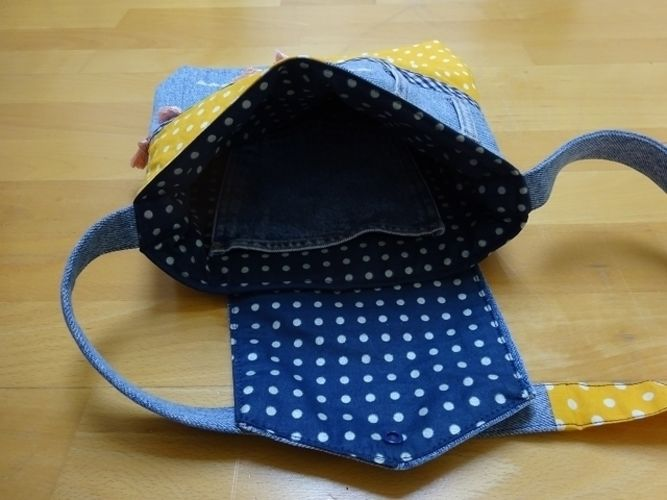 Makerist - Upcycling-Handtasche - Nähprojekte - 3