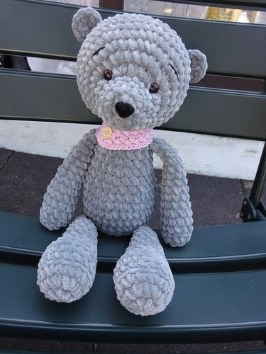 Makerist - Teddybär soooooooooo weich - Häkelprojekte - 1