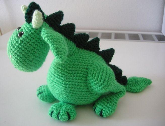 Makerist - Frieda, das friedliche Drachenmädchen - Häkelprojekte - 1