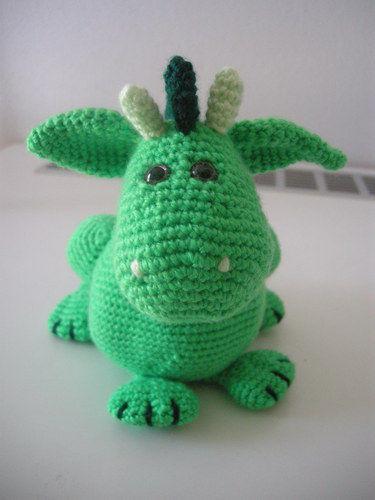 Makerist - Frieda, das friedliche Drachenmädchen - Häkelprojekte - 2