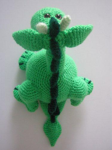 Makerist - Frieda, das friedliche Drachenmädchen - Häkelprojekte - 3