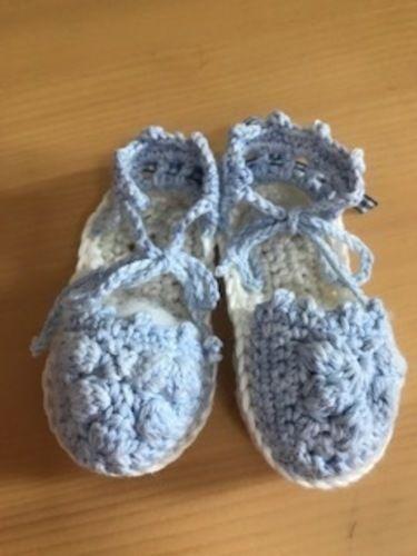 Makerist - Babyespandrilles / Mädchen - Häkelprojekte - 3