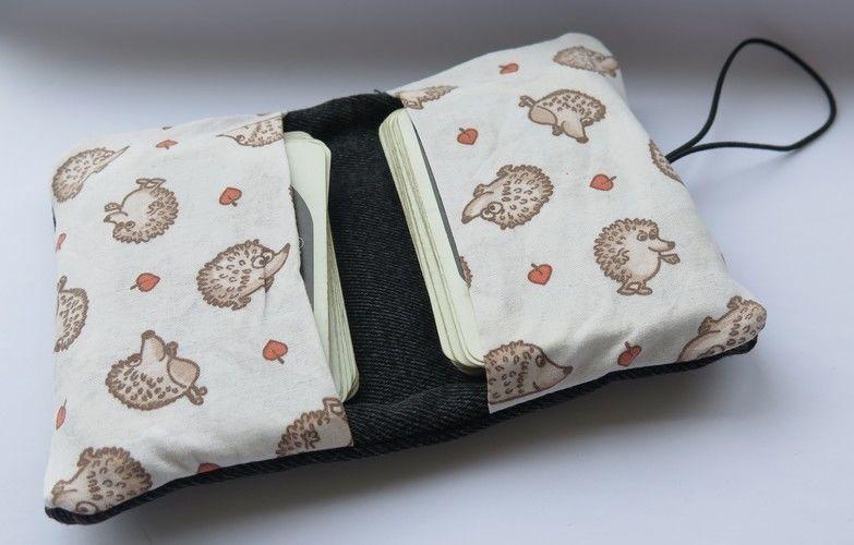 Makerist - Kartentasche - Textilgestaltung - 2