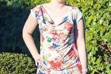 Makerist - Wasserfallkleid/ Shirt Clary von DREIEM'S - 1