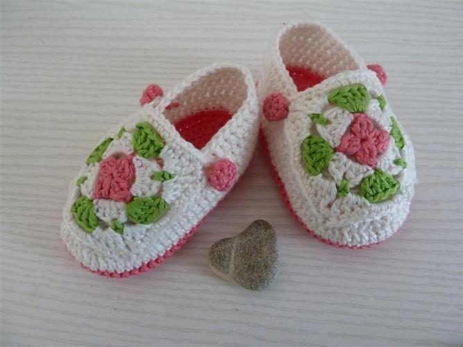 Makerist - Babyschuhe für Mädchen - Häkelprojekte - 2