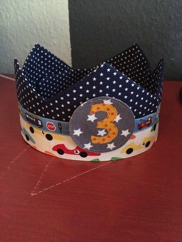 Makerist - Geburtstagskronen für unsere Zwillinge - Nähprojekte - 2