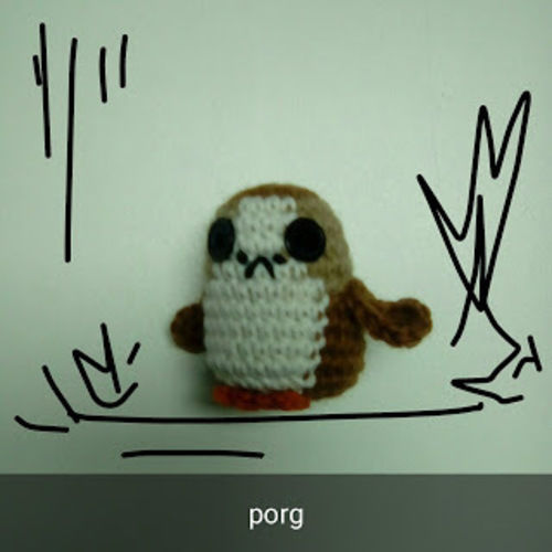 Makerist - Porg - Créations de crochet - 1