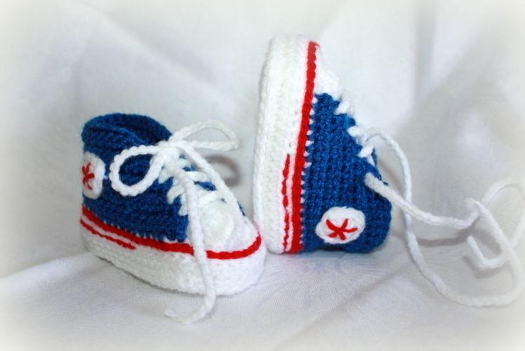 Makerist - Turnschuhe fürs Baby - Häkelprojekte - 1