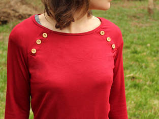 Makerist - Pullover mit Knopfleisten - 1