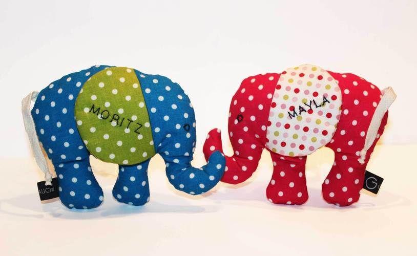 Makerist - Kleine Elefantenbabys - Nähprojekte - 1