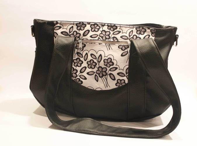 Makerist - Handtasche aus Kunstleder - Nähprojekte - 1