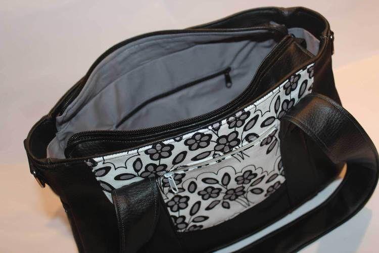Makerist - Handtasche aus Kunstleder - Nähprojekte - 3
