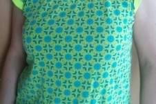 Makerist - Sommershirt Frau Josy mit Neon-Highlight - 1