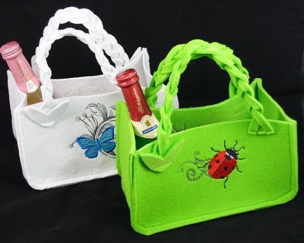 Makerist - Geschenktaschen zum Muttertag - Nähprojekte - 1