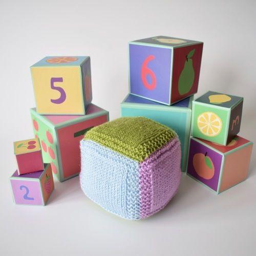 Makerist - Baby Blocks - Knitting Showcase - 1