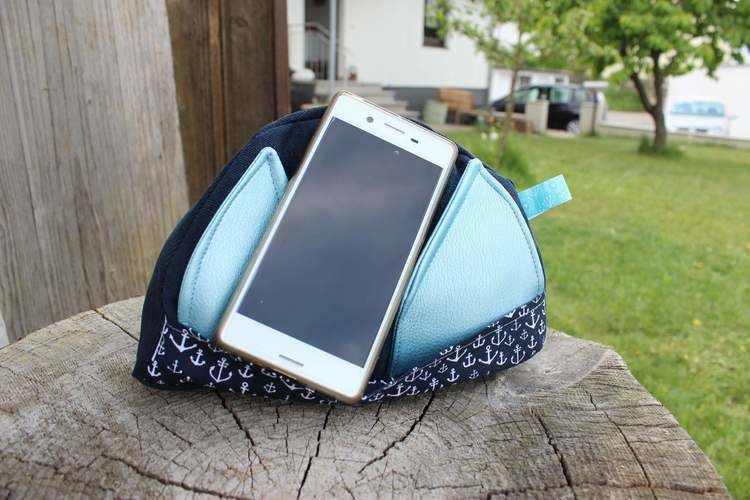 Makerist - Upcycling Handyhalter - Nähprojekte - 1