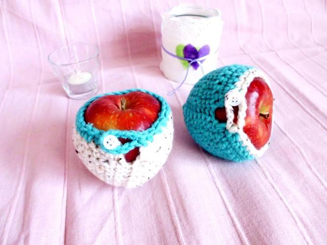 Makerist - Apfelmäntelchen gehäkelt - Häkelprojekte - 1