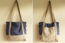 """Makerist - Handtasche """"Svea"""" aus Leinen und Ramie - 1"""