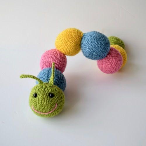 Makerist - Chloe Caterpillar - Knitting Showcase - 2
