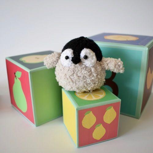 Makerist - Baby Penguin - Knitting Showcase - 2