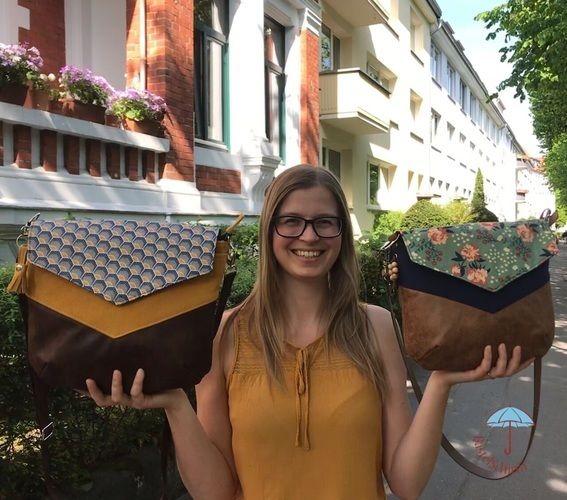 Makerist - Vara - Umhängetasche mit Klappe - Nähprojekte - 3