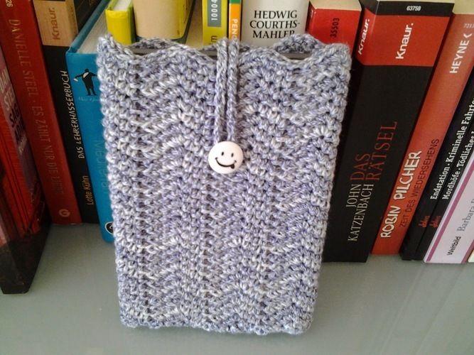 Makerist - Huelle Fuer meinen Kindle - Häkelprojekte - 1