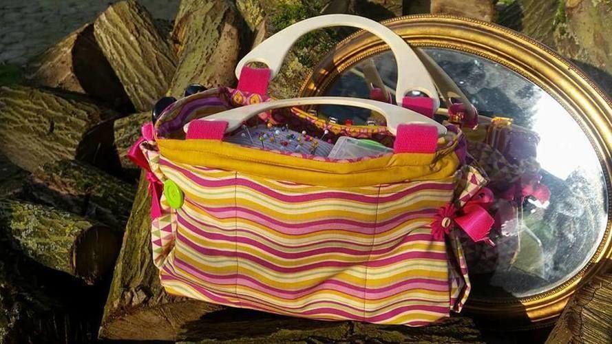 Makerist - Malme -die Tasche für Alles - als Nähutensilien Tragekorb - Nähprojekte - 2