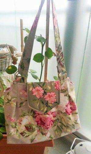 """Makerist - Handtasche """"Romantische Rosen"""" - Nähprojekte - 1"""
